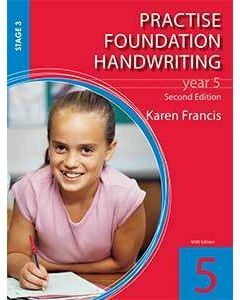 Practise Foundation Handwriting 5 (2nd Ed.)