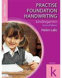Practise Foundation Handwriting K (2nd Ed.)