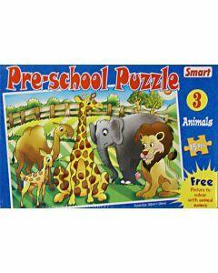Preschool Puzzle 3: Animals (15 pieces)