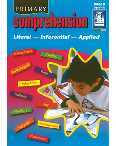 Primary Comprehension Book B (Ages 6 to 7)