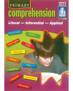 Primary Comprehension Book D (Ages 8 to 9)