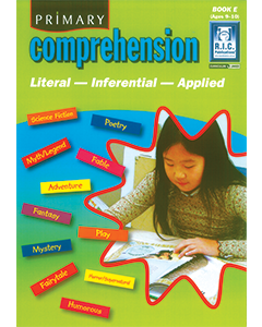 Primary Comprehension Book E (Ages 9 to 10)