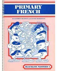 Primary French Blackline Master 1