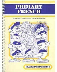 Primary French Blackline Master 2