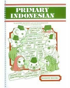 Primary Indonesian Blackline Master 1