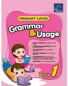 Primary Level Grammar & Usage Book 1