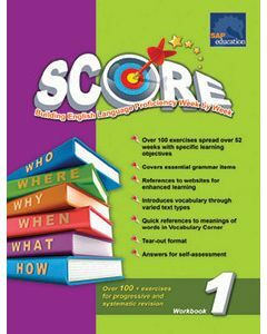 Primary Level SCORE Workbook 1 (NEW)