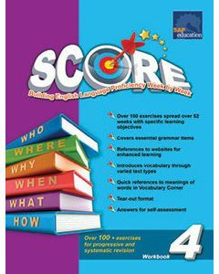 Primary Level SCORE Workbook 4 (NEW)
