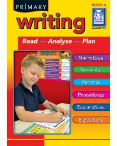 Primary Writing Book A Ages 5 to 6