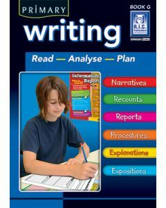 Primary Writing Book G Ages 11+