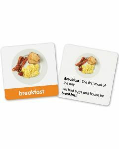 First Grade Vocabulary Photo Cards (Ages 6+)