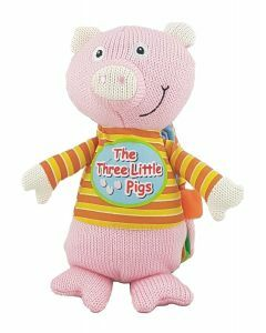 Woolly Book: The Three Little Pigs