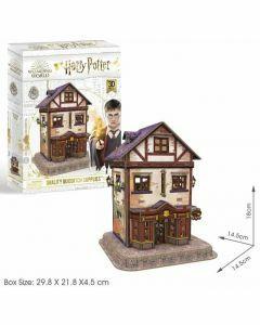 Hogwarts Quality Quidditch Supplies 78 Piece 3D Puzzle (Ages 8+)