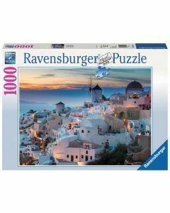 Santorini/Cinque Terre 1000 Piece Puzzle (Ages 12+)