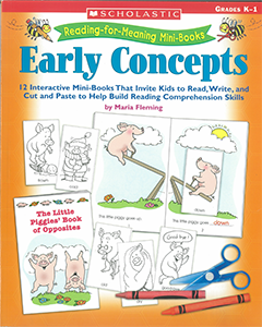 Reading for Meaning Mini Books: Early Concepts (K to Year 1)
