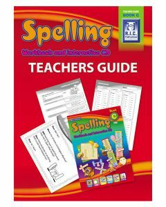 Spelling Workbook and Interactive CD Teachers Guide Book C