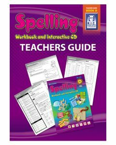 Spelling Workbook and Interactive CD Teachers Guide Book D