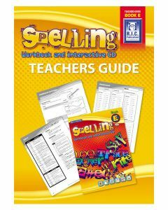 Spelling Workbook and Interactive CD Teachers Guide Book E