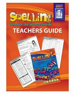 Spelling Workbook and Interactive CD Teachers Guide Book F