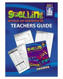 Spelling Workbook and Interactive CD Teachers Guide Book G
