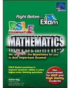Right Before The Exam - PSLE Mathematics