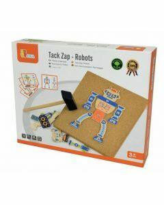 Tack Zap: Robots (Ages 3+)