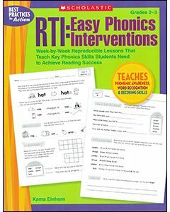 RTI: Easy Phonics Interventions Grades 2 to 3