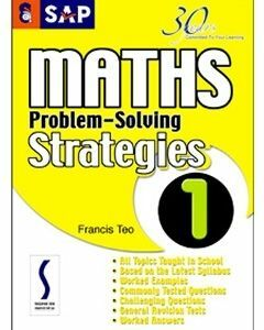 SAP Maths Problem-Solving Strategies Book 1