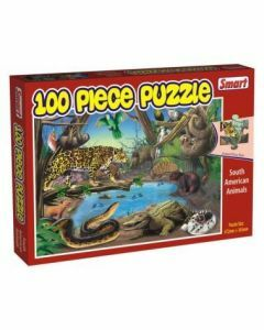 South American Animals 100 Piece Puzzle (Ages 4+)