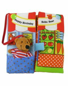 Happy Birthday Bobo Bear - Colours Soft Book (Ages 10+ months)