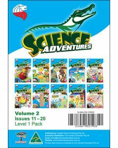 Science Adventures Issues 11-20 Level 1 Pack (Ages 6-8)