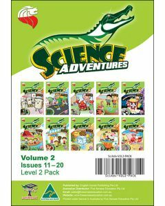 Science Adventures Issues 11-20 Level 2 Pack (Ages 9-10)