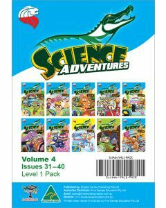 Science Adventures Issues 31-40 Level 1 Pack (Ages 6-8)