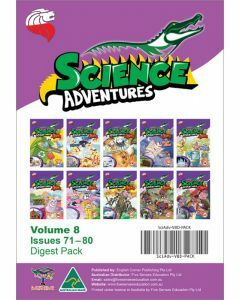 Science Adventures Issues 71-80 Digest Pack (Ages 10-12)