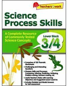 Science Process Skills Lower Block 3/4
