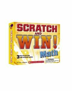 Scratch and Win! Maths Game (Ages 8+)