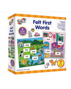 Felt First Words (Ages 3+)