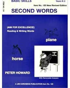 Second Words  Yrs K to 3 (Basic Skills No. 120)