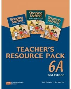 Shaping Maths Teacher's Resource Pack 6A