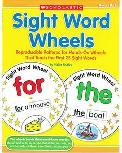 Sight Word Wheels (Years K to 2)