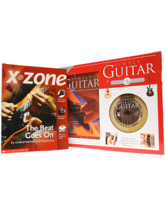 Simply Guitar Box Set, DVD and X-Zone Book