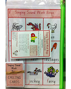 Singing Sound Work 1 Bingo QLD