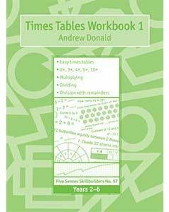 Skillbuilders Times Tables Workbook 1