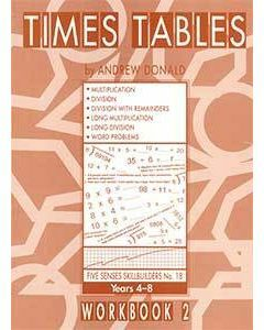 Skillbuilders Times Tables Workbook 2