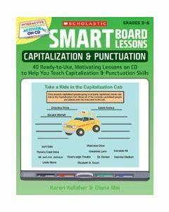 Smart Board Lessons: Capitalisation & Punctuation (Grades 3-6)