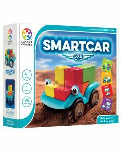 Smart Car 5x5 Preschool Puzzle Game (Ages 4+)