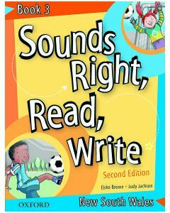Sounds Right, Read, Write NSW Book 3 Second Edition