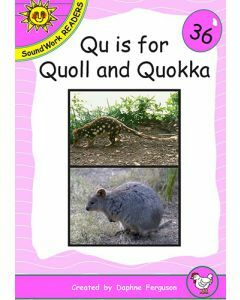 36. Qu is for Quoll & Quokka