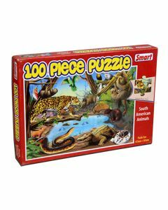 South American Animals 100 pc Puzzle