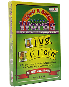 Spell and Build Words (Ages 5+)